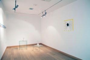 Esperanza Mayobre, Brock Enright, Daria Irincheeva © 2016, Vista de la exposición en el Centro de Arte Pepe Espaliú. Cortesía de Kandor13