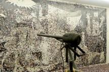 Fritzia Irizar. Alepo-Guernica. 2017. Cortesía de NF Galería