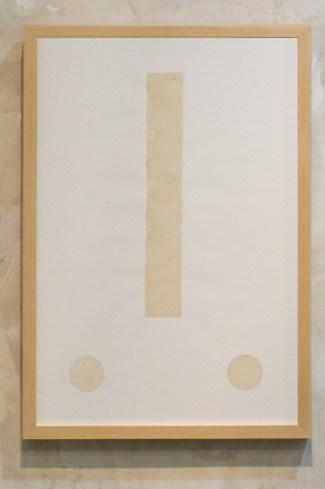 Engel Leonardo. Vevés Papel de algodón y jugo de cascara de plátano verde 38 x 51 cm