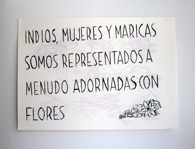 Jeleton, Indios, mujeres y maricas, 2014