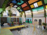 Sol Calero, La escuela del Sur. Vista de la instalación, Studio Voltaire, London, 2015. Foto: Andy Keate. Cortesía de Sol Calero y Laura Bartlett Gallery, London