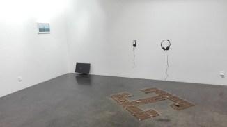 Hacia donde Olmedo miraba. Vista de la exposición. Cortesía de la Galería Ponce + Robles