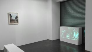 Hacia donde Olmedo miraba. Vista general. Obras de Karina Skvirsky. Cortesía de la Galería Ponce + Robles
