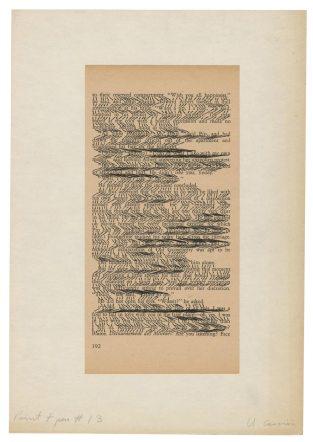 Ulises Carrión, Sin titulo (Print + pen # 13), not dated, ca. 1972 © Archivo Lafuente
