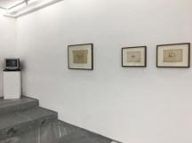 Vista de la exposición, Alicia Mihai Gazcue, Para ser preciso en la Galería Espacio Mínimo, 2018. Cortesía de Espacio Mínimo