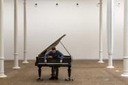 Allora & Calzadilla.  Stop, Repair, Prepare: Variations on Ode to Joy, No.3, 2008, Piano Bechstein modificat© Foto: Roberto Ruiz © Fundació Antoni Tàpies, Barcelona, 2018.