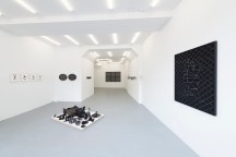 Cabinet of True Horizons, Vista de la exposición. Cortesía de Carlos Rodríguez