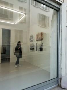 Vista de la exposición Alep, cortesía del artista