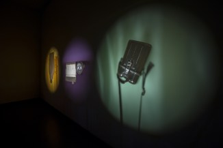 Susanne Kriemann, Pechblende (Chapter 1), 2014-16, installation, courtesy the artist, photo by Aad Hoogendoorn