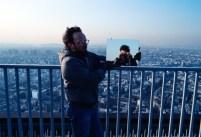 Teo Hernández, La Torre Montparnasse con Jakobois. Fondo Teo Hernández, Centro Pompidou/MNAM/CCI - Biblioteca Kandinsky