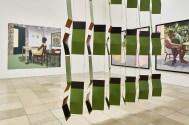 Interiorities Vista de la instalación con obras de Leonor Antunes y Njideka Akunyili Crosby. Haus der Kunst, 2019 Foto: Connolly Weber Photography