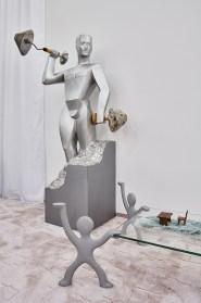 "Henrike Naumann ""Ruinenwert"", 2019 Vista de la instalación Haus der Kunst, 2019 Foto: Connolly Weber Photography"