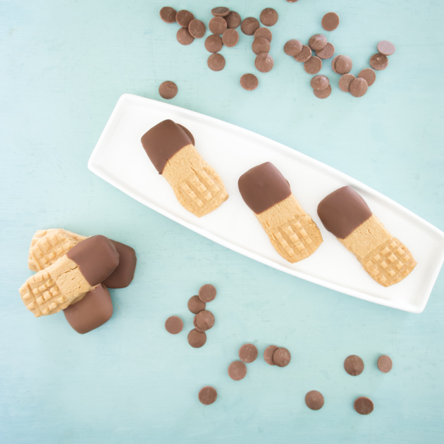 Galletas de peanut butter