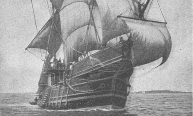 Cristóbal Colón feliz por su equivocación