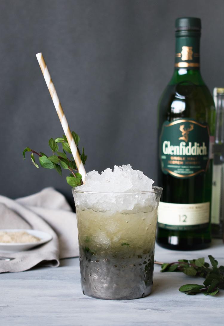 cocteles con whisky, clasicos con glenfiddich