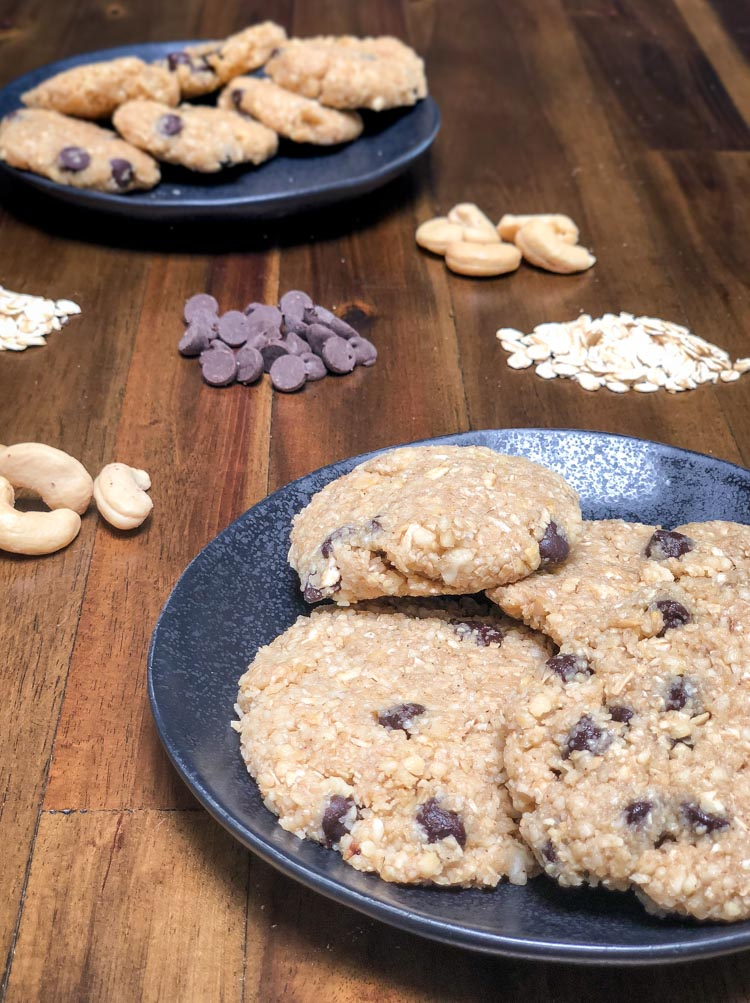 Galletas saludables de chispas de chocolate - receta en Revista Maria Orsini