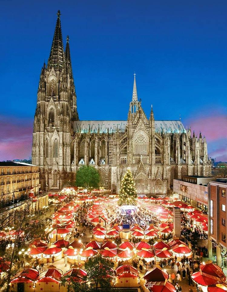 Los mercados navideños más bonitos del mundo, Colonia, Koln, Alemania