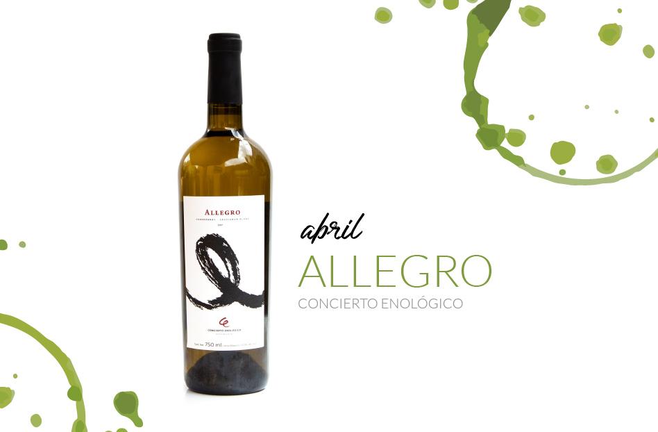 Abril: Allegro, de concierto Enológico