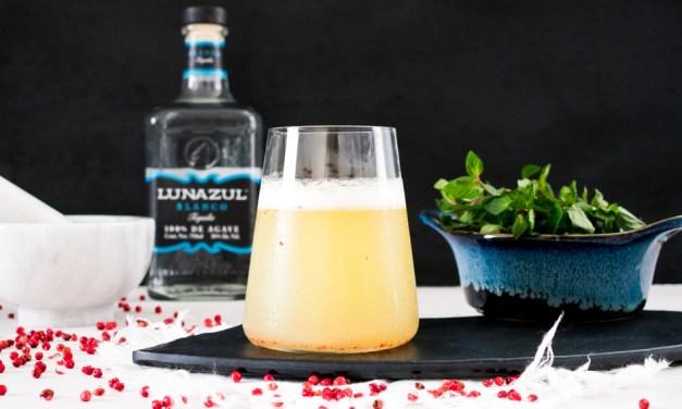 Luna sour – coctel de tequila y naranja