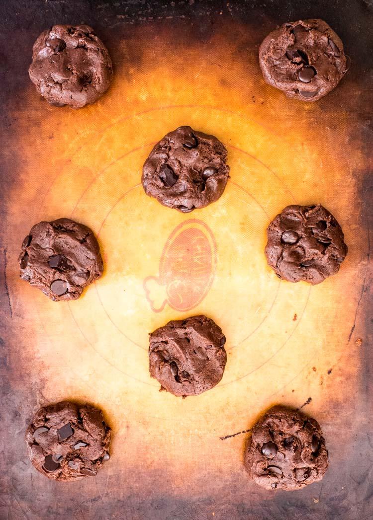 Receta de galletas de chocolate con sal de mar