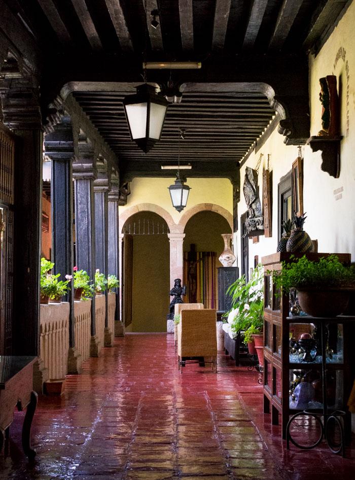 Hotel Mansion Iturbe en Patzcuaro