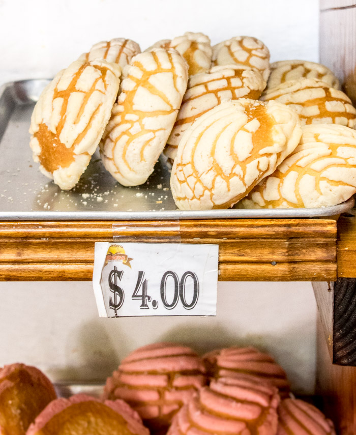 Pan dulce tradicional mexicano