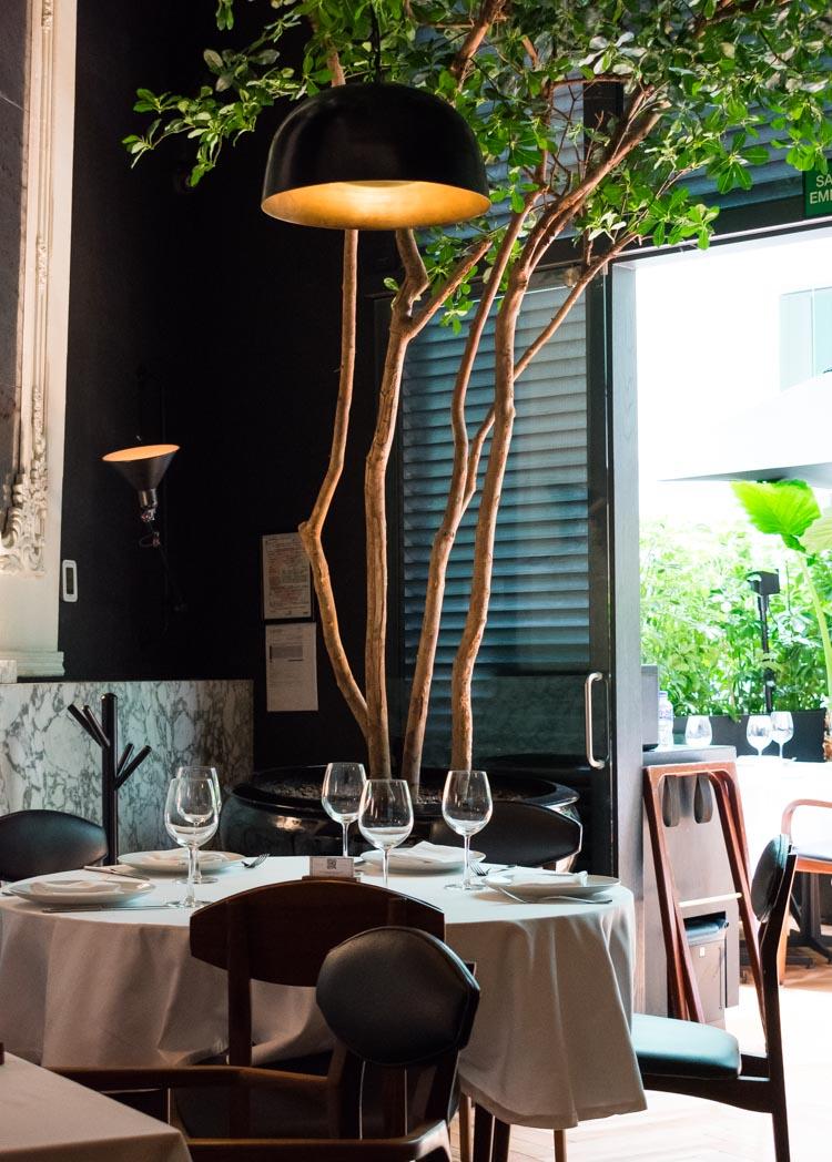 Restaurante Blanco Bistro Arcos Bosques