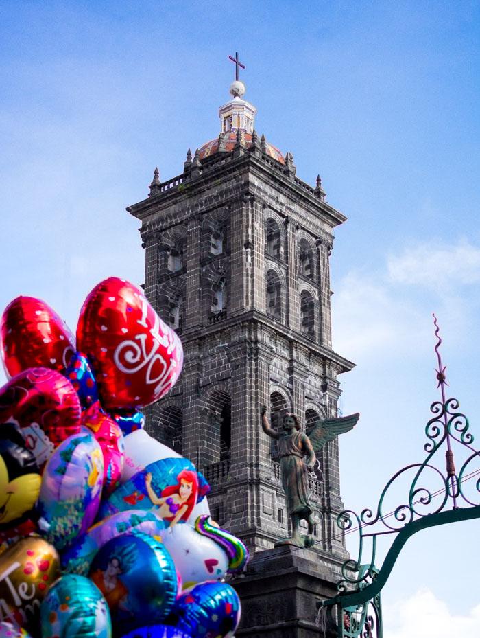 Escapada de fin de semana en Puebla, Torre de la catedral