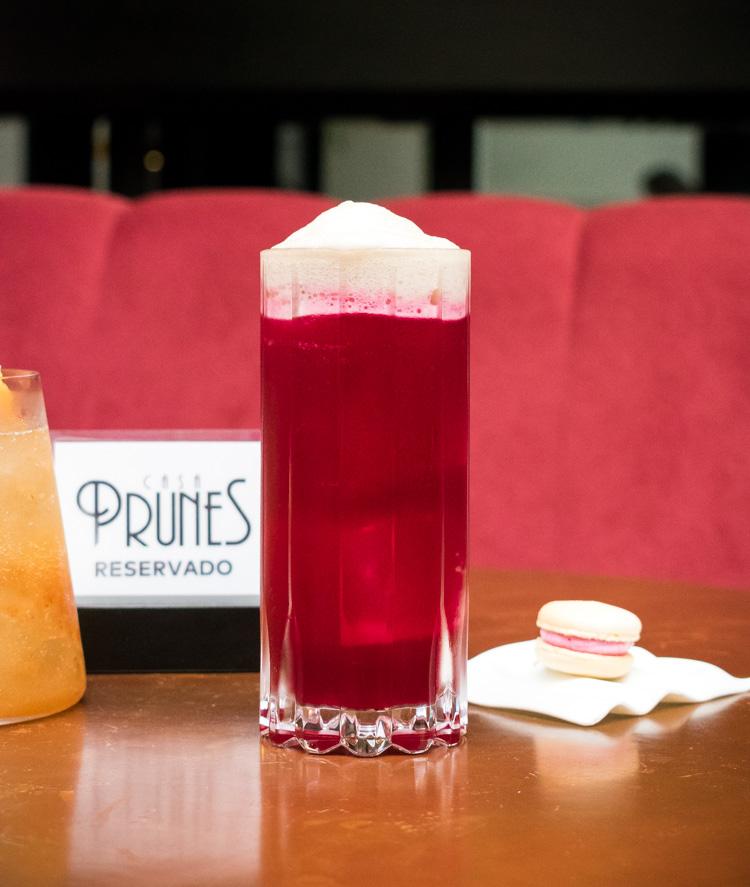 cocteleria en Casa Prunes, colonia Roma, bar y restaurante