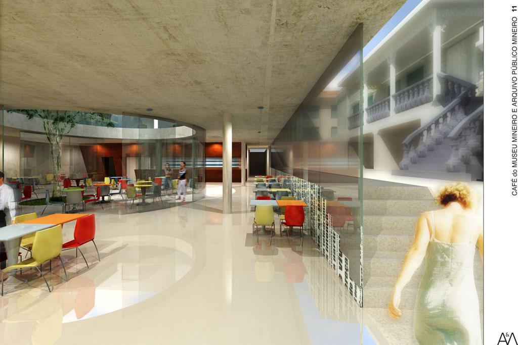 Café do Museu Mineiro e Arquivo Público Mineiro - MG