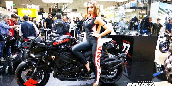 Así deslumbró Suzuki en el EICMA 2018