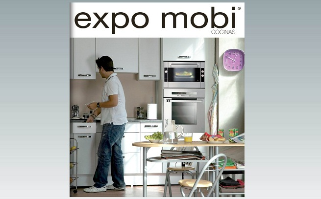 Cat logo cocinas expo mobi revista muebles mobiliario for Catalogo de cocinas