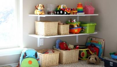 Ideas para guardar los juguetes revista muebles - Estanterias para guardar juguetes ...