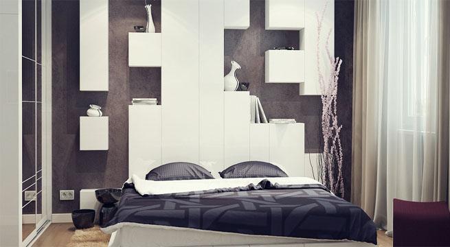 Cabeceros de cama con espacio de almacenaje revista - Cabeceros de diseno ...