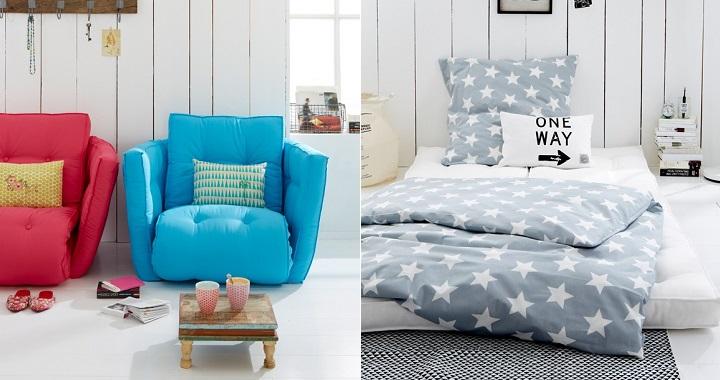 Moderno y pr ctico sill n cama revista muebles for Muebles sillon cama
