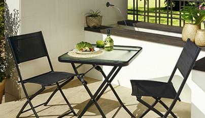 Revista muebles mobiliario de dise o for Sillas de jardin alcampo
