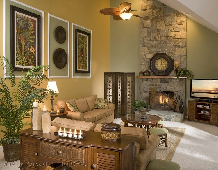 How to Add Wall Décor on Tall Walls - Home Improvement ... on Picture Room Decor  id=76628