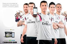El Real Madrid C.F. presenta la nueva Real Madrid App 2