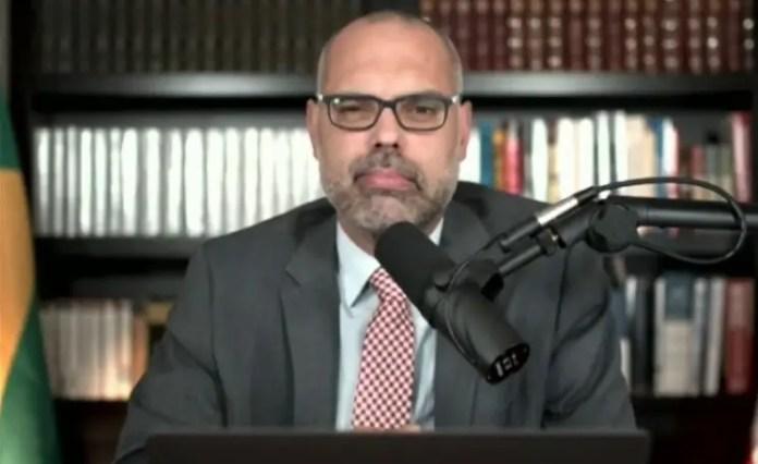 Allan dos Santos, um dos integrantes do Terça Livre