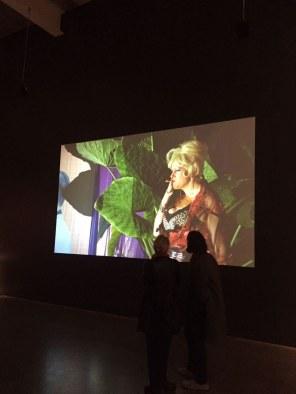 Imagem na exposição do New Museum.