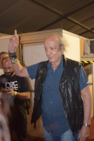O tremedão Erasmo Carlos antes de entrar no palco.