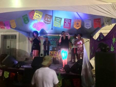 5º Festival Canábico, que rolou no Pátio de São Pedro (Foto: Fernando de Albuquerque).