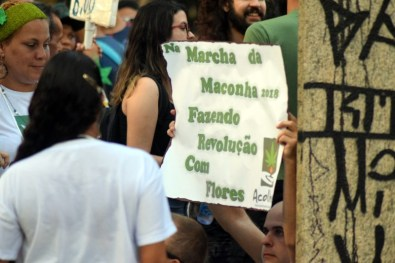 A defesa da maconha medicinal. (Jonatan Oliveira/OGrito!)