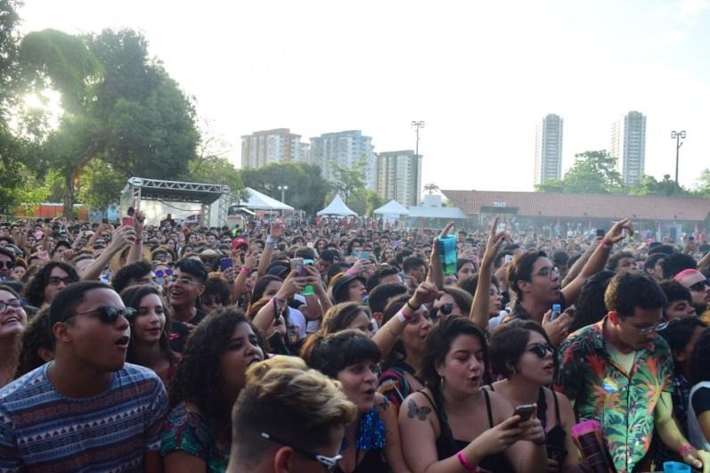O público do festival: melhor espaço possível.