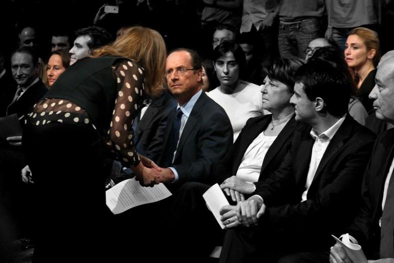 FRANCOIS HOLLANDE INVESTITURE PRESIDENTIELLE 2012