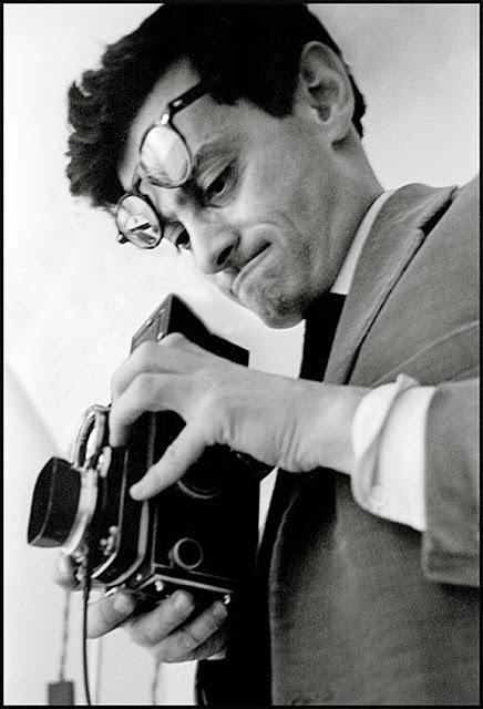 Richard Avedon fotografiado en New York por Frank Horvat, 1963.