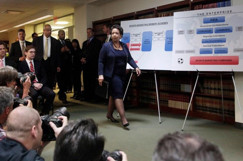 Loretta E. Lynch. Imagen: AP//Mark Lennihan