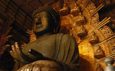 4 Buda do Templo Todaiji, Nara, Japão. Creative Commons