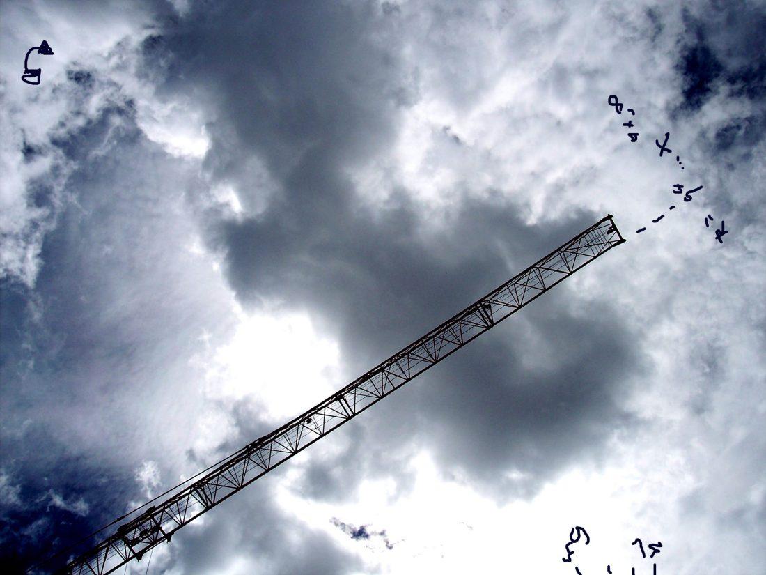 De la serie Celeste urbano (2009)