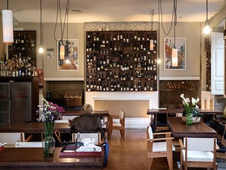 O restaurante de O Pazo de Altamira. Foto: Iván Barreiro